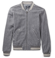 Grayers Russell Herringbone Cotton Bomber Jacket