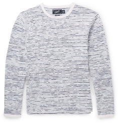 Grayers Peter Slubbed Linen and Cotton-Blend Sweater