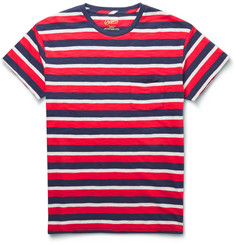 Grayers Striped Cotton-Jersey T-Shirt