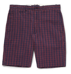 Grayers Newport Checked Cotton Shorts