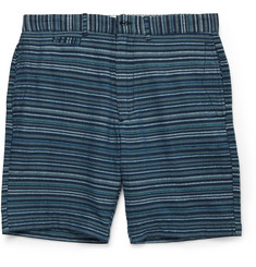 Grayers Newport Striped Cotton-Blend Shorts