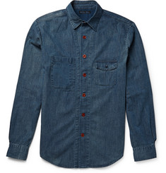 Alex Mill Potrero Indigo-Dyed Chambray Shirt