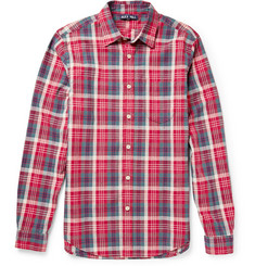Alex Mill Cove Checked Linen and Cotton-Blend Shirt