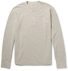 Alex Mill Ribbed Cotton-Jersey Henley T-Shirt