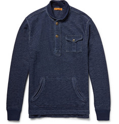 Alex Mill Mechanics Indigo-Dyed Loopback Cotton Sweatshirt