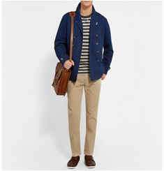 Alex Mill Cotton and Linen-Blend Peacoat