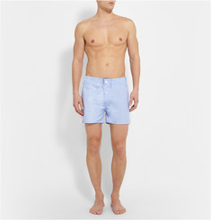 Emma Willis Patchwork Cotton Boxer Shorts