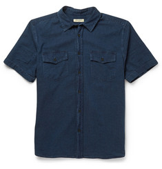 Levi's Made & Crafted Dobby Cotton Short-Sleeved Shirt