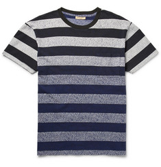 Levi's Made & Crafted Speckled Striped Cotton T-Shirt