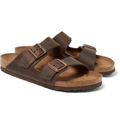 Birkenstock - Arizona Matte-Leather Sandals