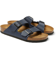 Birkenstock - Arizona Birko Flor and Suede Sandals