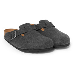 Birkenstock Boston Wool-Felt Sandals