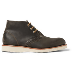 Red Wing Shoes Classic Leather Chukka Boots