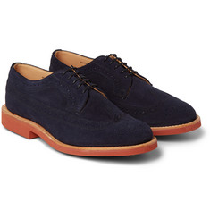 Mark McNairy Suede Longwing Derby Brogues