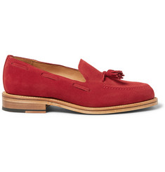 Mark McNairy Tasselled Suede Loafers
