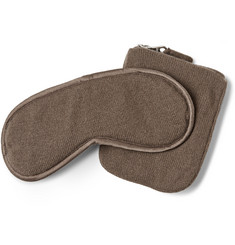Armand Diradourian Cashmere Travel Eye Mask