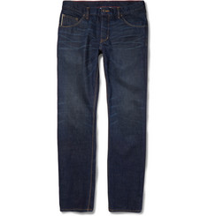 Raleigh Denim Slim-Fit Jones Washed-Denim Jeans