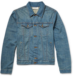 Raleigh Denim Washed Nep Denim Jacket