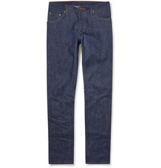 Raleigh Denim Slim-Fit Nep Denim Jeans
