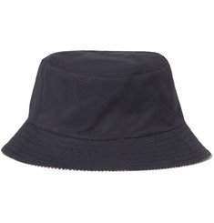 Lock & Co Hatters Reversible Cotton Bucket Hat