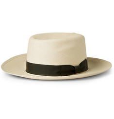 Lock & Co Hatters Woven-Straw Folding Panama Hat