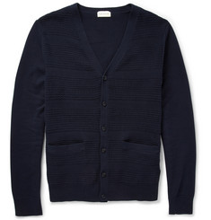 Club Monaco Stitched Cotton Cardigan