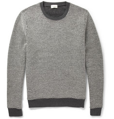Club Monaco Reversible Knitted Wool Sweater