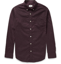 Club Monaco Slim-Fit Cherry-Print Cotton Shirt