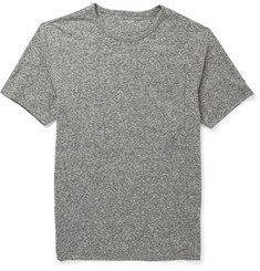 Club Monaco Marled Cotton-Blend T-Shirt