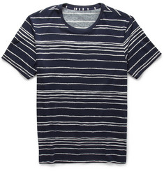 Club Monaco Striped Cotton T-Shirt