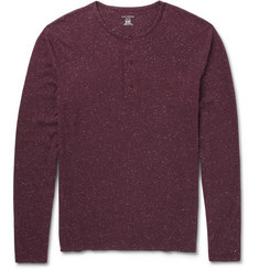 Club Monaco Cotton-Blend Henley T-Shirt