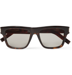 Saint Laurent Bold 5 Tortoiseshell Acetate Sunglasses