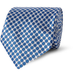 Penrose Embroidered Silk Tie