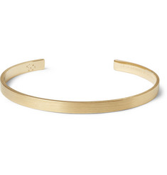 Le Gramme Le 15 Brushed Yellow-Gold Cuff