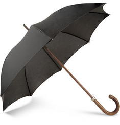London Undercover City Gent Malacca Wood-Handled Umbrella