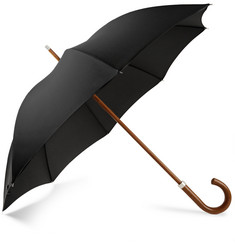 London Undercover Malacca Wooden-Handle Umbrella