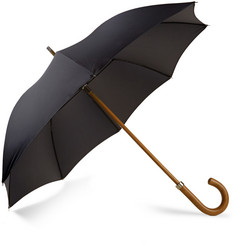 London Undercover City Gent Multi-Braid Malacca Wood-Handled Umbrella