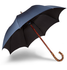 Francesco Maglia Bamboo Wood-Handle Umbrella