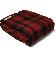 Filson Mackinaw Plaid Virgin Wool Blanket