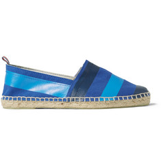 Castañer Pablo Striped Canvas Espadrilles