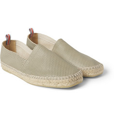 Castañer - Pablo Perforated-Leather Espadrilles