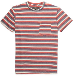 Beams Plus Striped Cotton-Blend Jersey T-Shirt