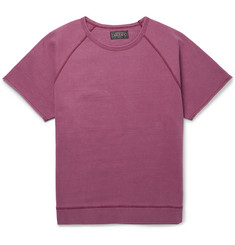 Beams Plus Raw-Hem Cotton Sweatshirt