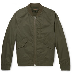 Beams Plus Cotton-Blend Flight Jacket
