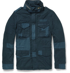 Beams Plus Patchwork M65 Slim-Fit Cotton Field Jacket