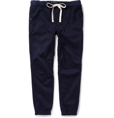 Beams Plus Tapered Cotton-Blend Trousers