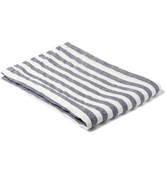 Frescobol Carioca Striped Linen Beach Towel