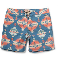 Faherty Printed Swim Shorts