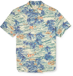 Faherty Printed Lightweight Shirt
