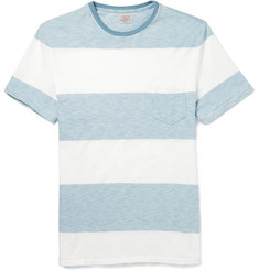 Faherty Striped Cotton T-Shirt